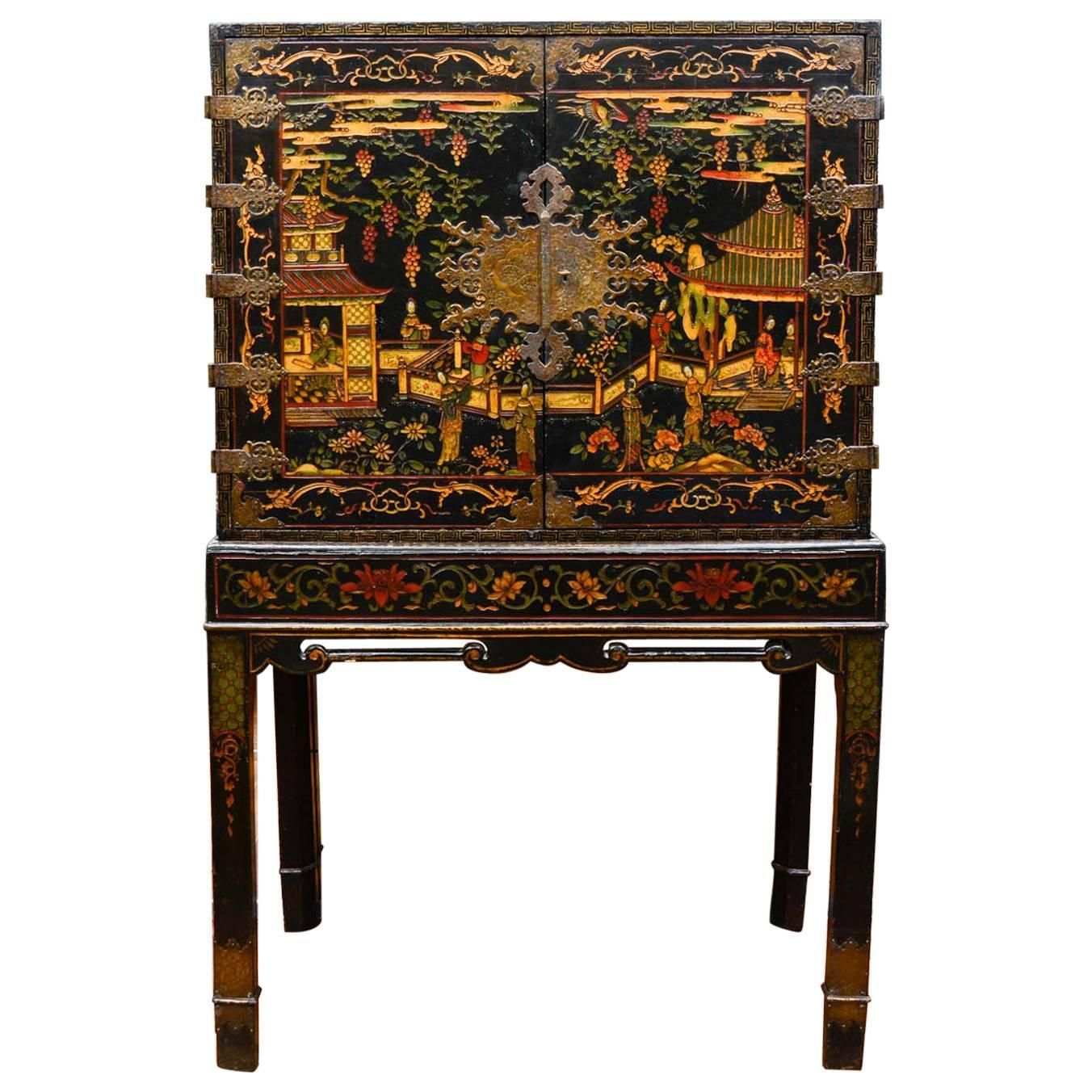 Very Delicate Chinese Cabinet Chinese Cabinet Cabinet Chinese