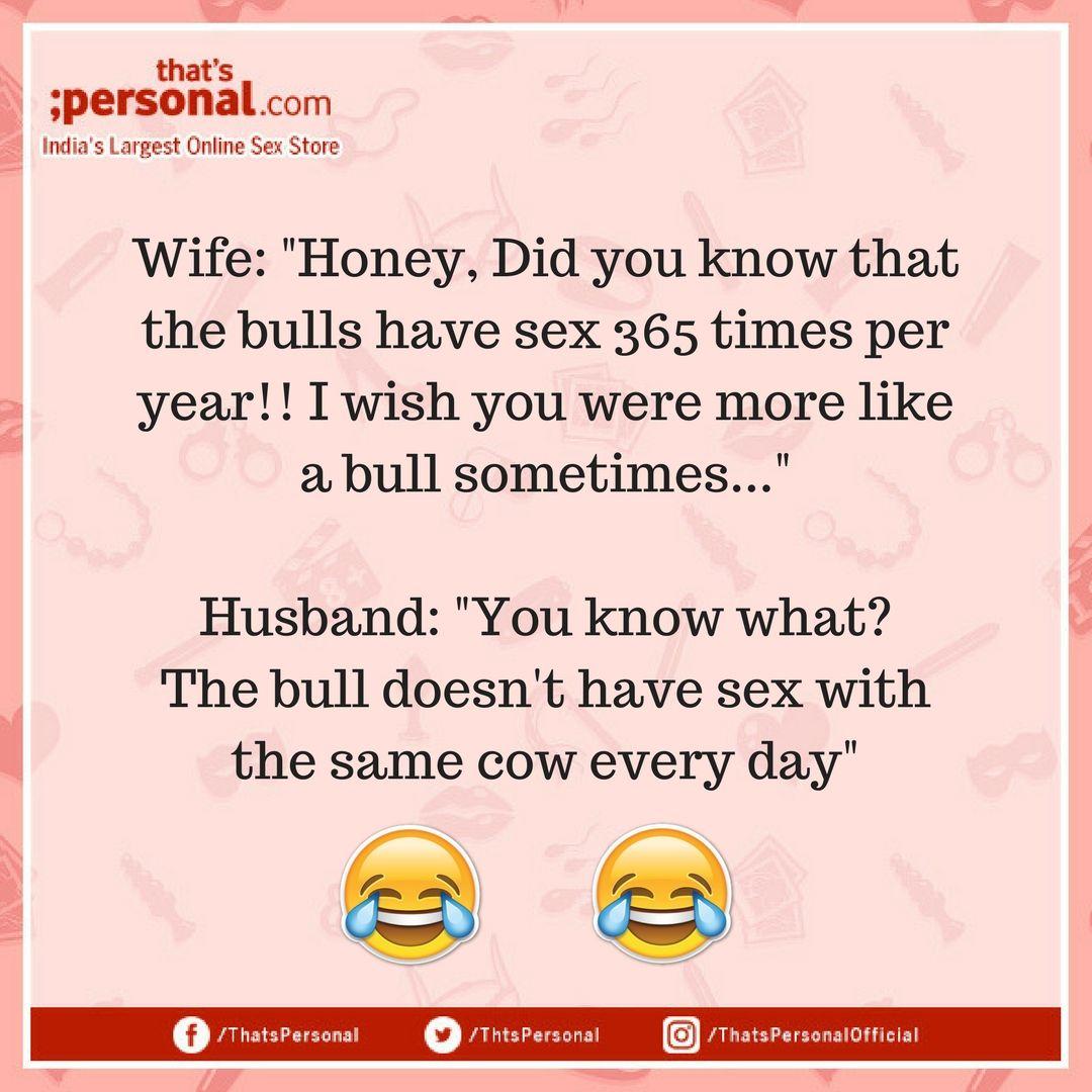 Sex jokes for husband
