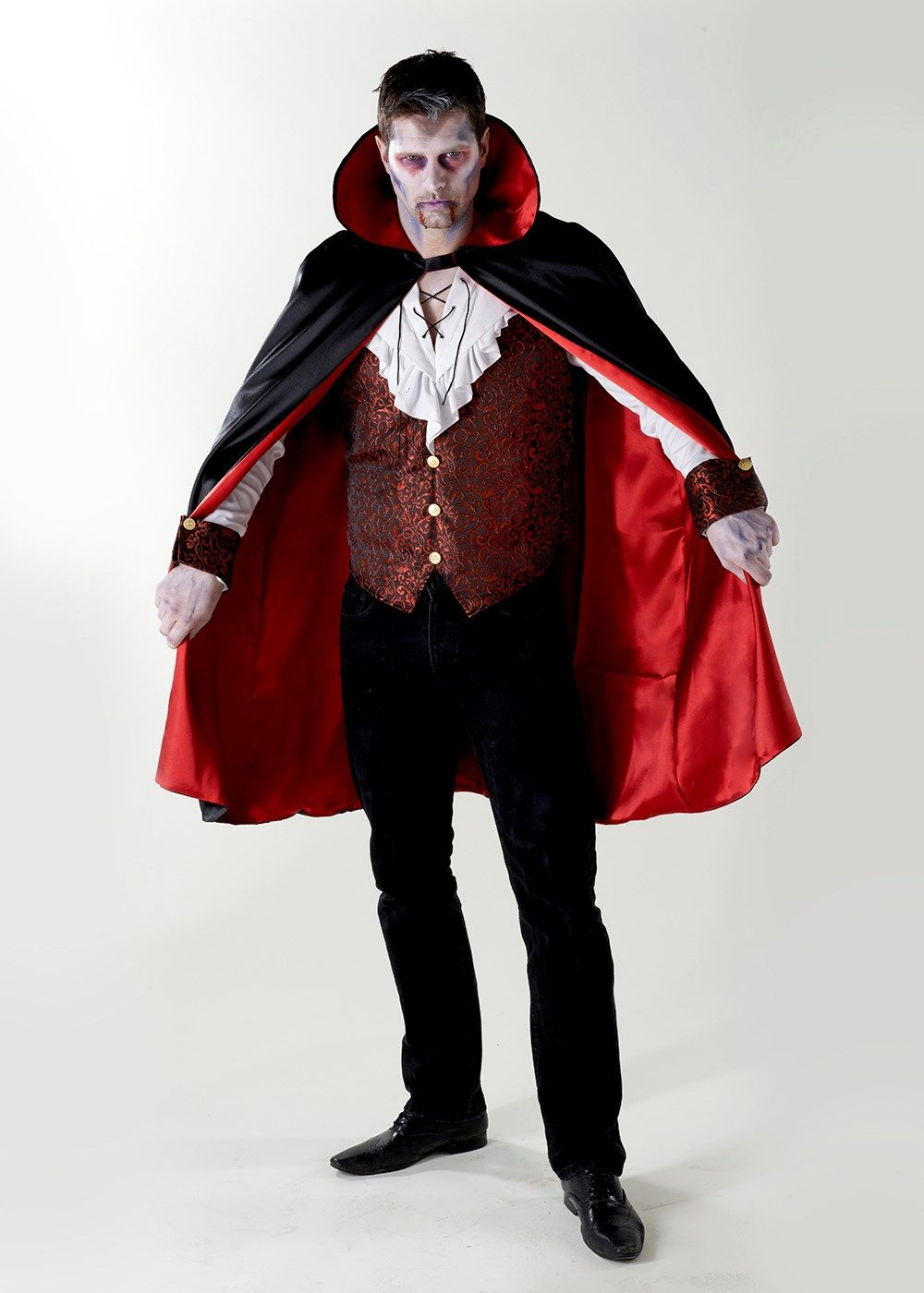 ff04da3f5 Halloween Vampire Fancy Dress Costume. Matalan £20 | Trick or Treat ...
