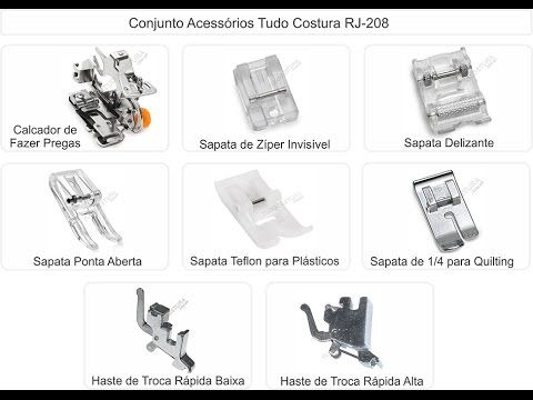 Calcadores para maquina doméstica - YouTube | Calcadores