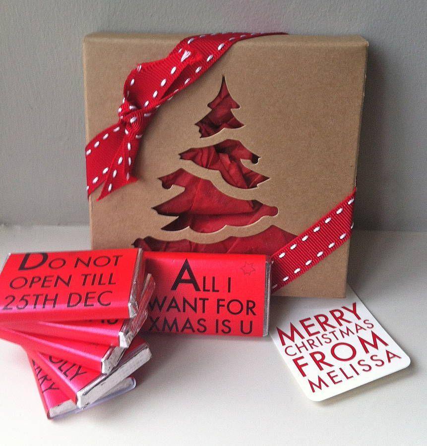 Christmas Notes Gift Box