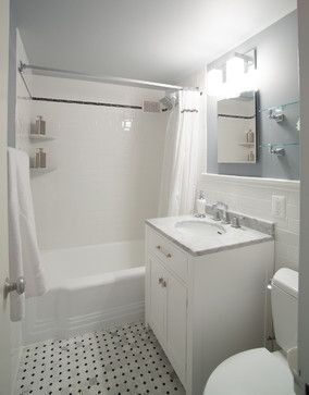 Cleveland Park Small Bathroom Remodel Traditional Bathroom Dc - Bathroom remodeling cleveland