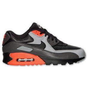 Nike Air Max 90 LTR Men's BlackMedium AshTotal Crimson
