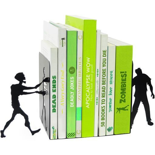 Zombie Bookends by The Literary Gift Company