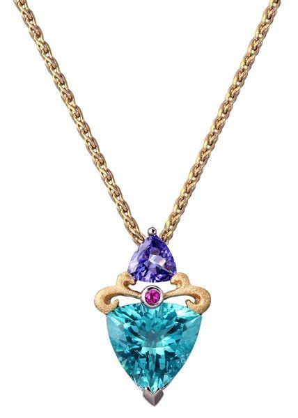 Lanikai apatite pendant beautiful denny wong pendant he makes 404 page not found jck las vegas mozeypictures Gallery