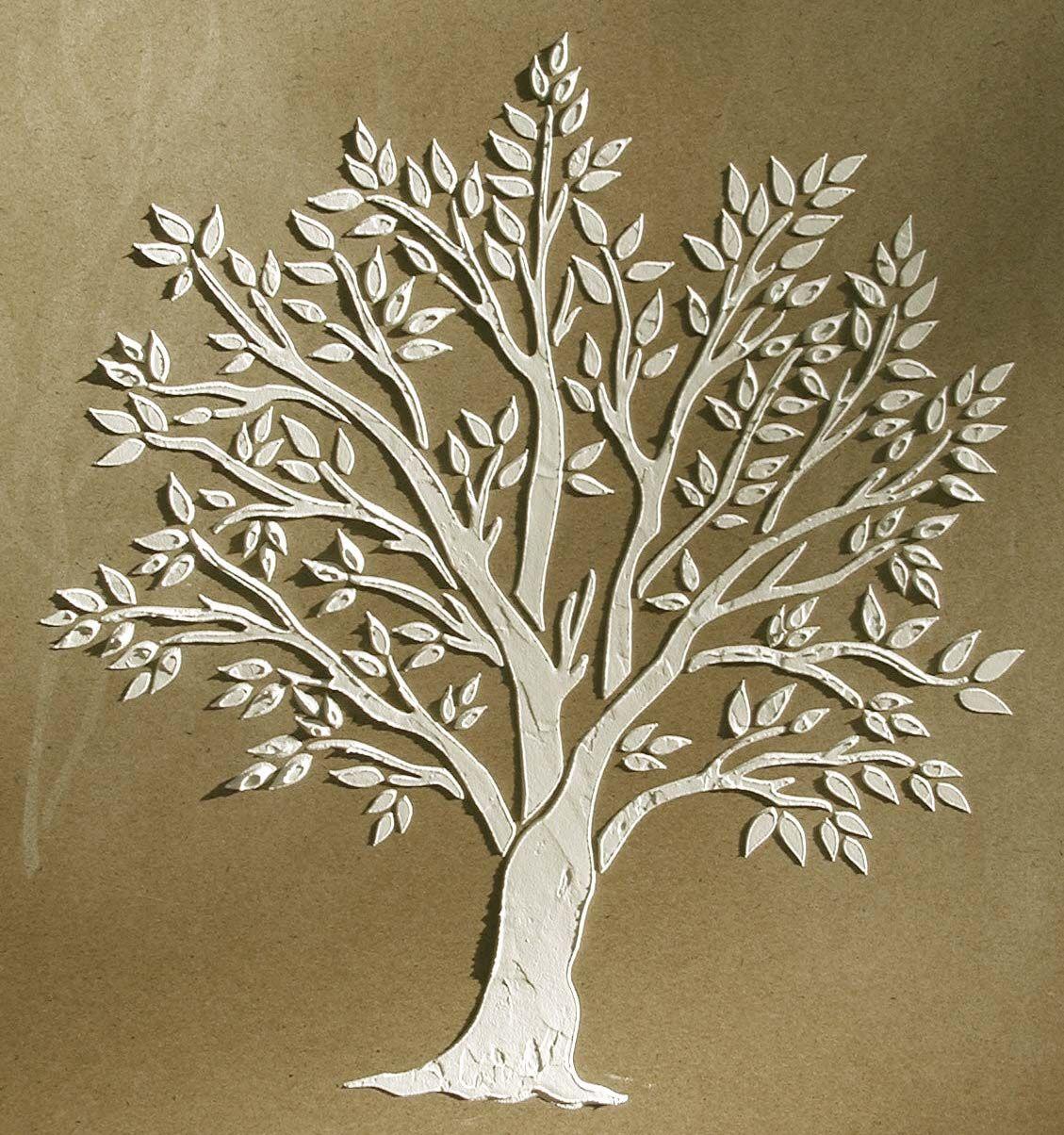 Raised plaster miniature tree stencil httpvictorialarsen raised plaster miniature tree stencil httpvictorialarsenplasterstencilminiaturetreeml amipublicfo Gallery