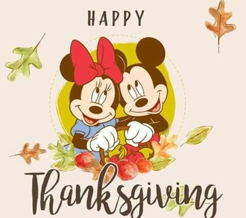 Happy Thanksgiving   Disney thanksgiving, Disney holiday ...