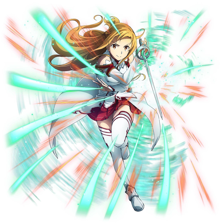 Tags Sword Art Online Yuuki Asuna Official Art Png Conversion A 1 Pictures Bandai Namco Entertainment Sword Art Online Asuna Sword Art Sword Art Online