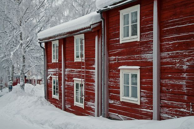 Kyrkstaden  Vilhelmina, Sverige, sweden