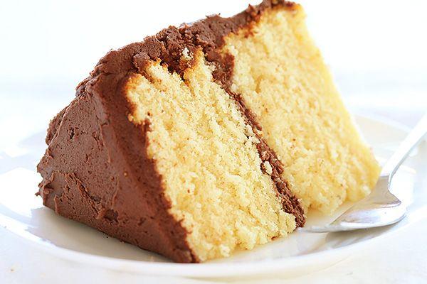homemade yellow cake mix le dessert Pinterest Yellow cake