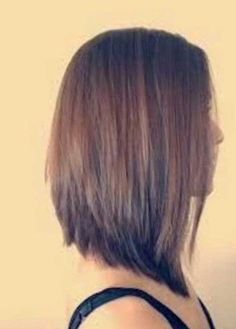 Long Inverted Bob Hairstyles 2017