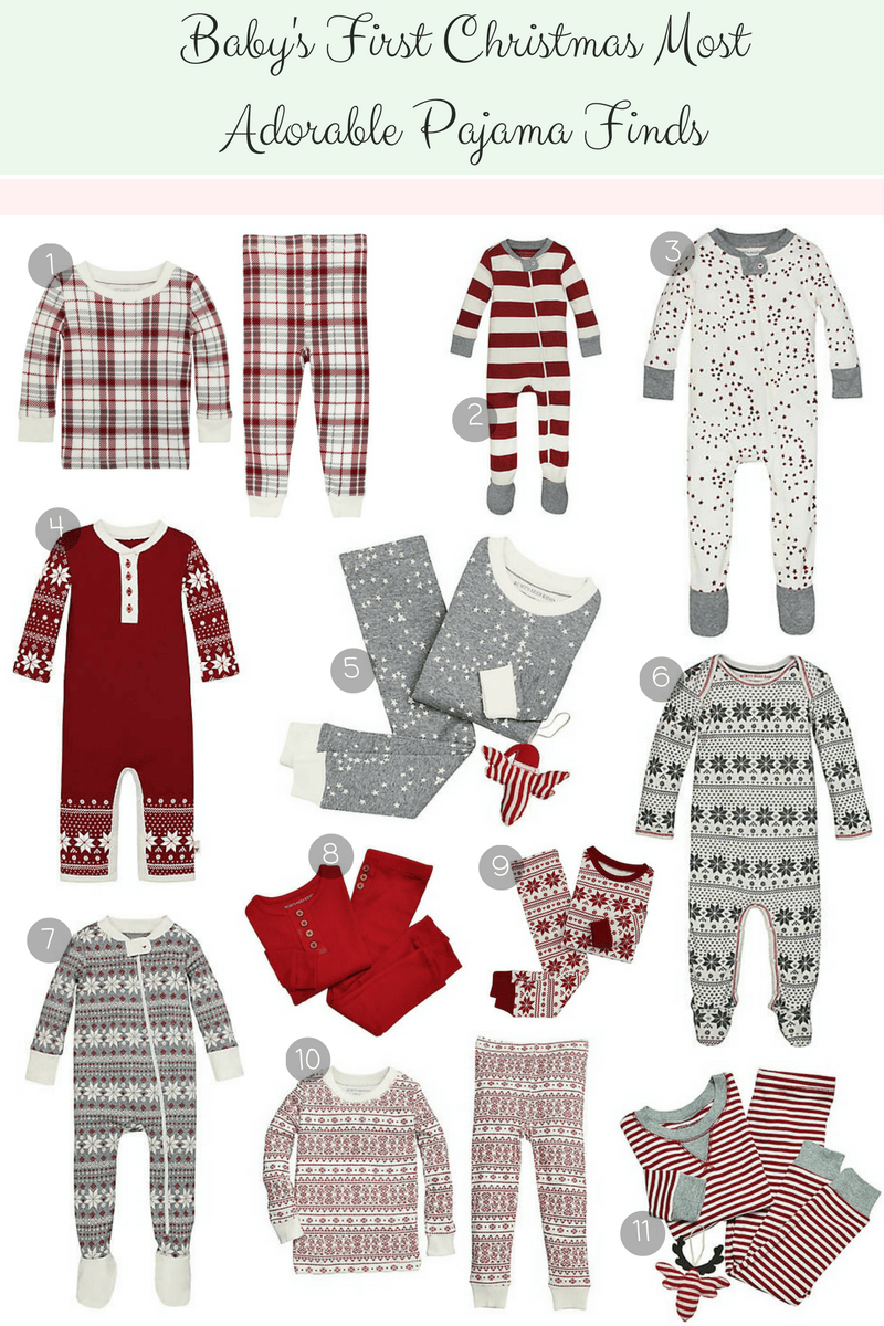 christmas pjs for baby babys first christmas adorable pajama finds affordable christmas pjs for baby first christmas pajamas girl pajamas boy pajamas