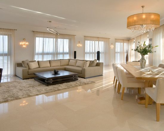 Elegant Dining Room Design Pictures Remodel Decor And Ideas Page 60 Classy Living Room Tile Floor Living Room Beige Living Rooms