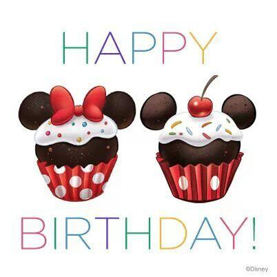 Happy birthday. | Disney | Happy birthday text, Happy birthday