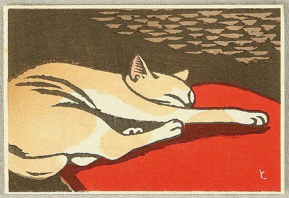 INAGAKI Tomoo - Cat ca 1930s