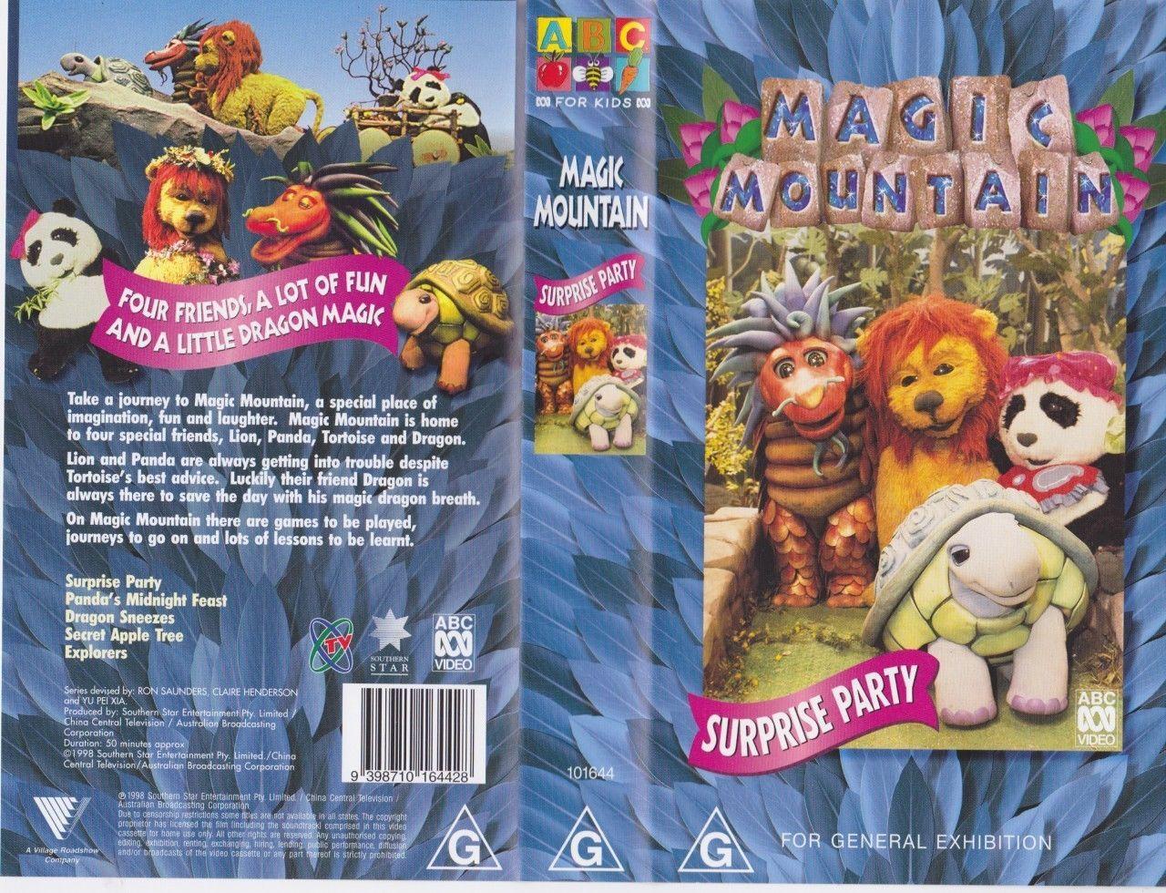 Magic mountain surprise party vhs video pal~ a rare find ...