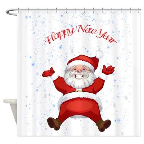 Happy New Year Shower Curtain by shymaa | Christmas lights ...