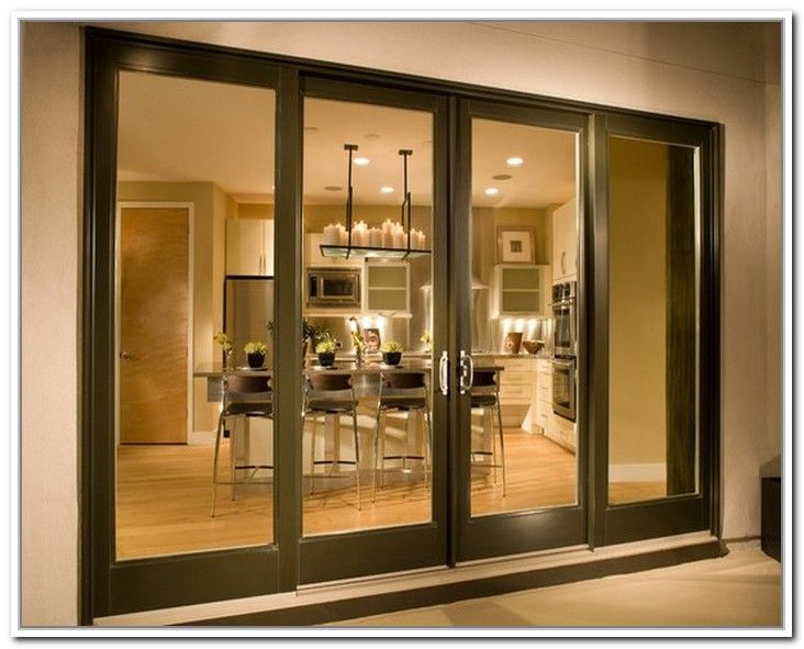 Decorating 4 Panel Sliding Patio Doors Inspiring