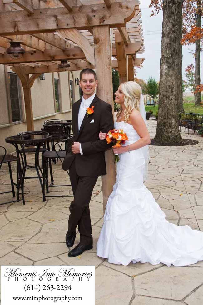 Beautiful Fall Colors At Brookshire Columbus Ohio Wedding Reception Venues