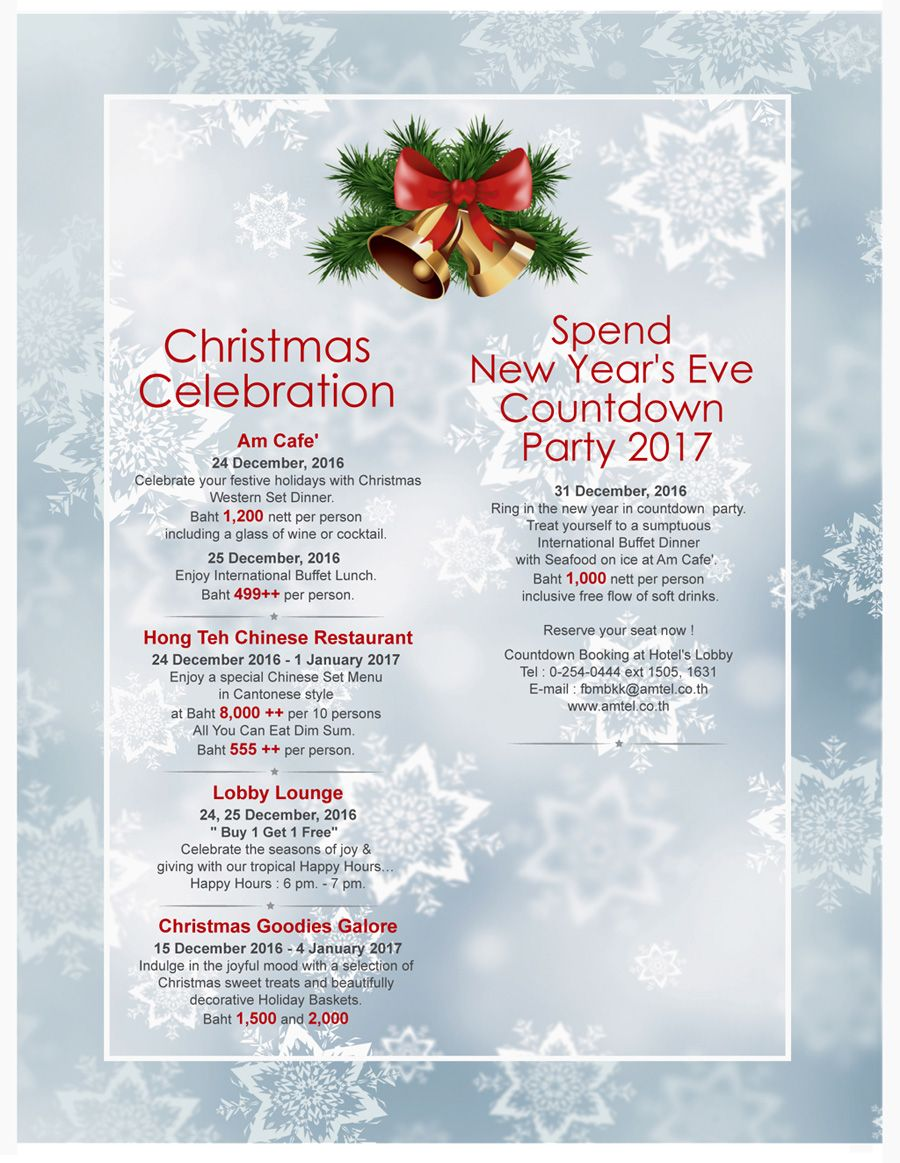 Christmas Celebration New Year S Eve Countdown Party