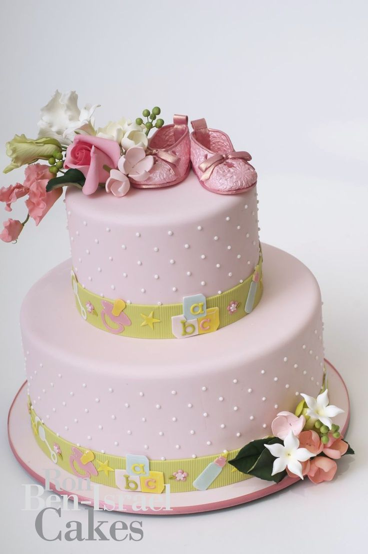 Such A Gorgeous And Elegant Cake Baby Shower Cakes Pinterest