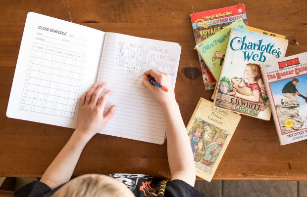 Great ideas on how to incorporate journaling into home education.