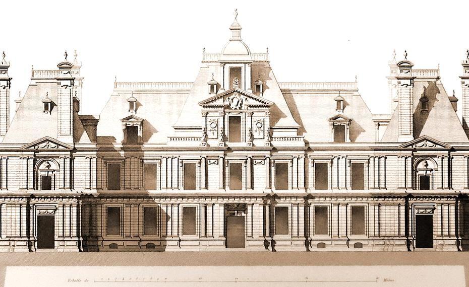The Chteau De Maisons Now Chteau De Maisons Laffitte Designed By Franois Mansart From 1630 To 1651 Baroque Architecture German Architecture French Architecture