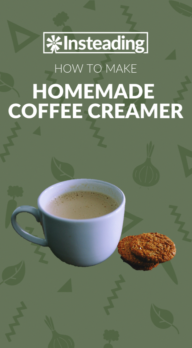 Skip the store-bought creamer and make your own at home with our homemade coffee creamer reci ...