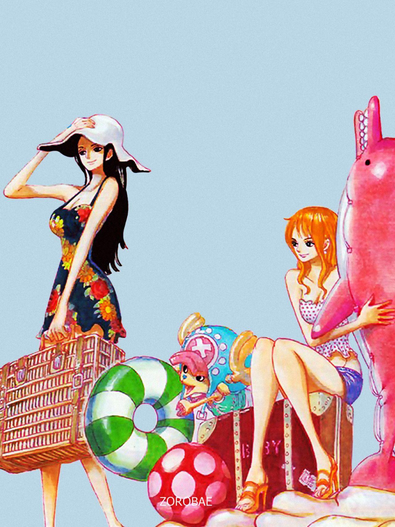One Piece - Nami, Robin, Chopper | One Piece | Pinterest