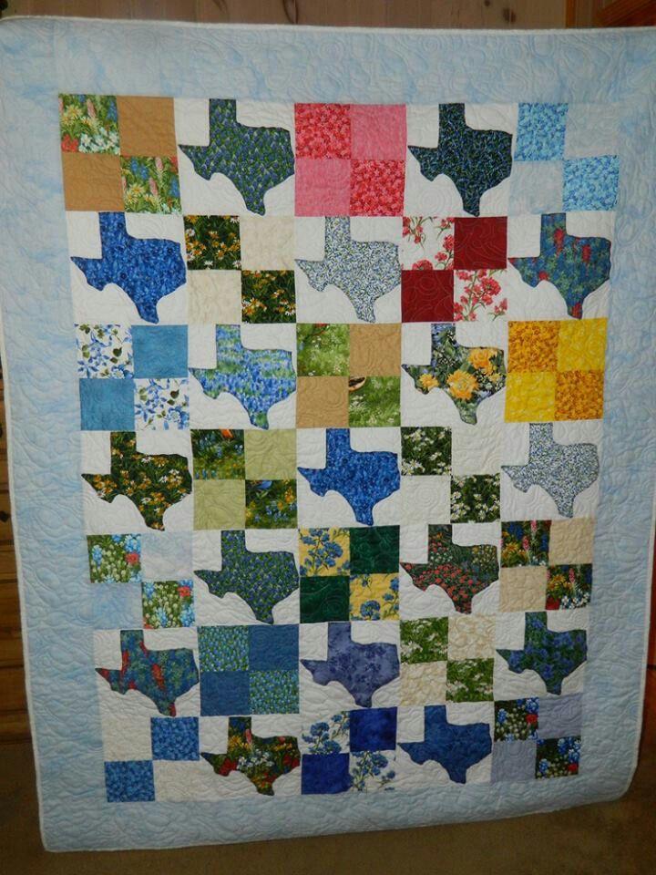 Texas quilt | Crafty things | Pinterest | Texas quilt, Texas and ... : texas quilt guilds - Adamdwight.com