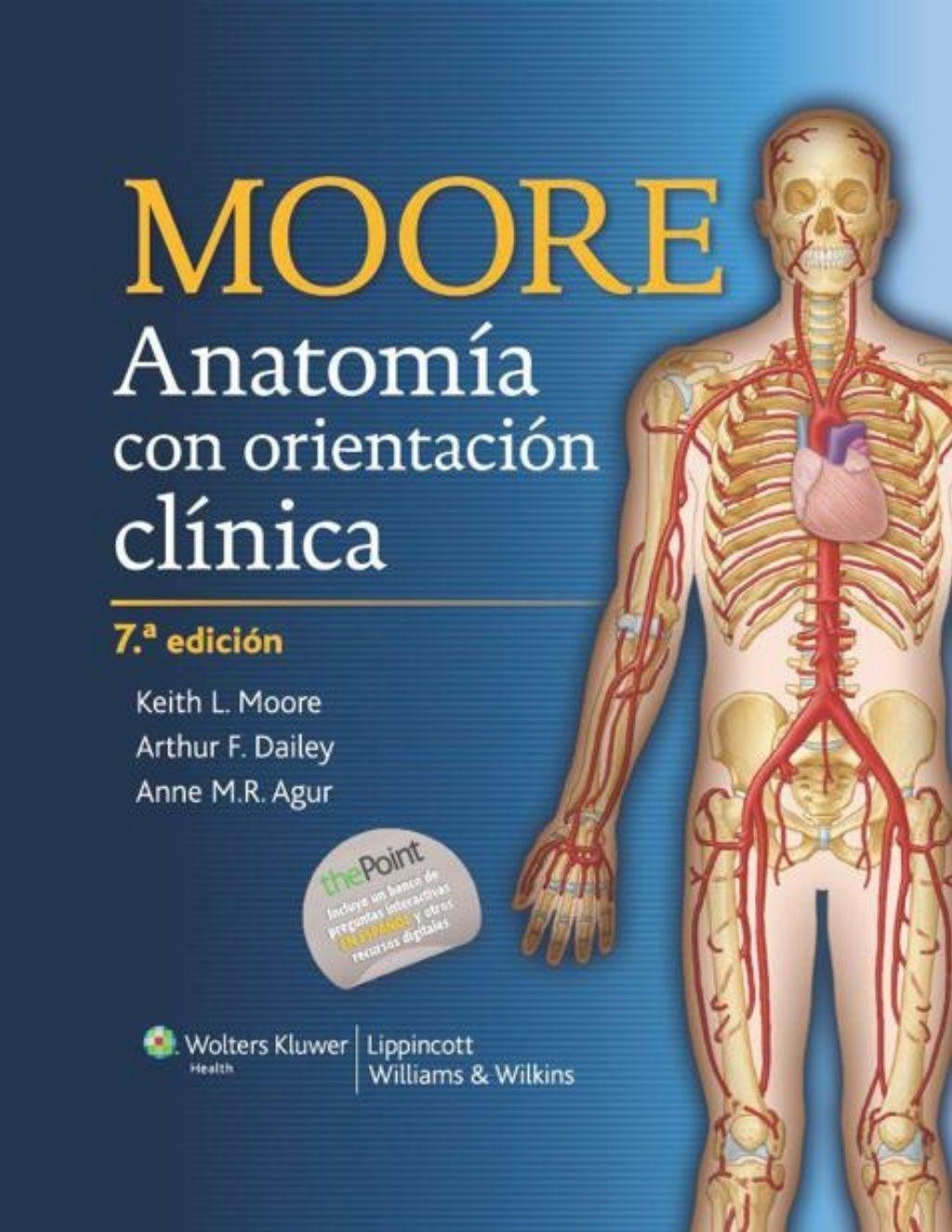 Anatomía con Orientación Clínica de Moore - 7ma edición by in Your ...