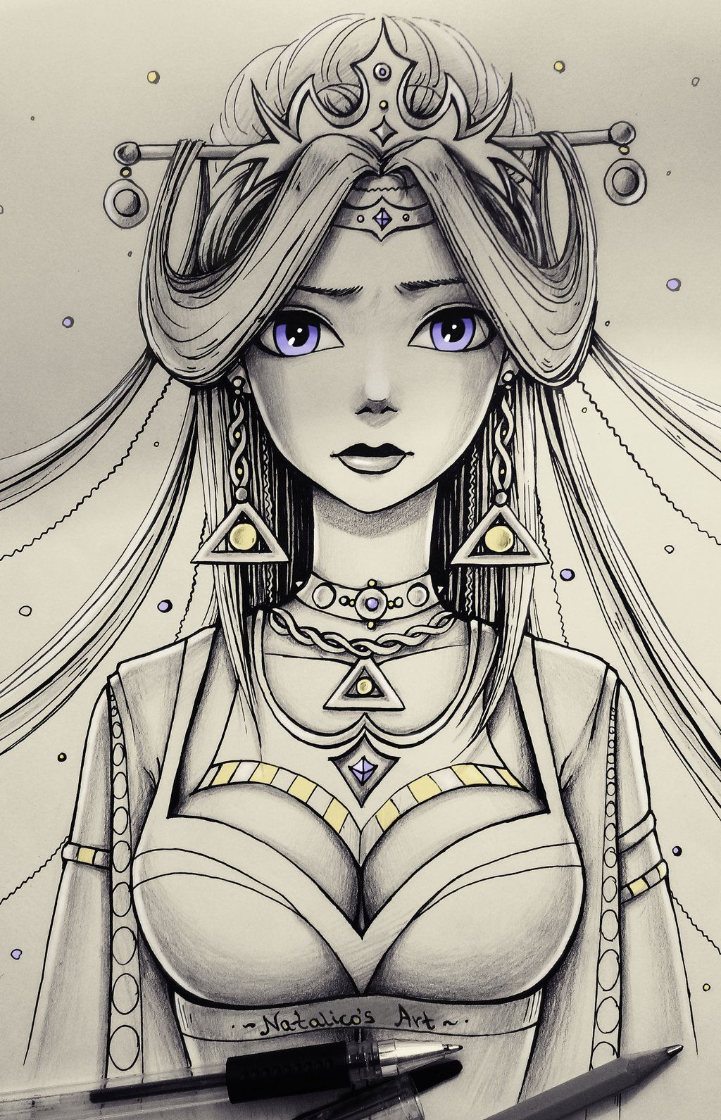 Queen by natalico deviantart com on deviantart chinese drawings art drawings