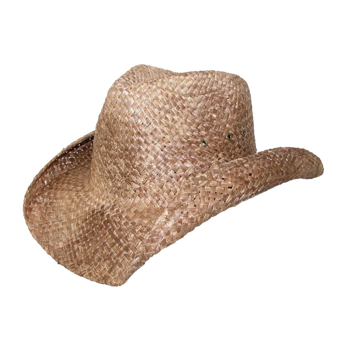 7e00014f532ac Straw Cowboy Hat for Men Women. Distressed straw  22.95