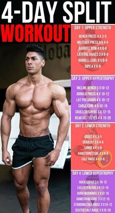 the essential 8 multijoint exercises  training splits