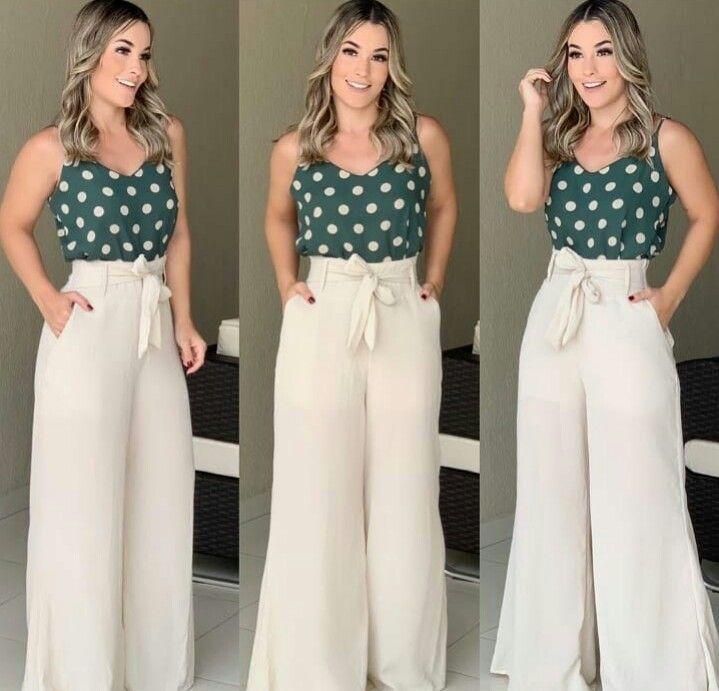 Modas Para Mim Pantalones De Vestir Mujer Pantalones De Moda Mujer Ropa Mujer Elegante