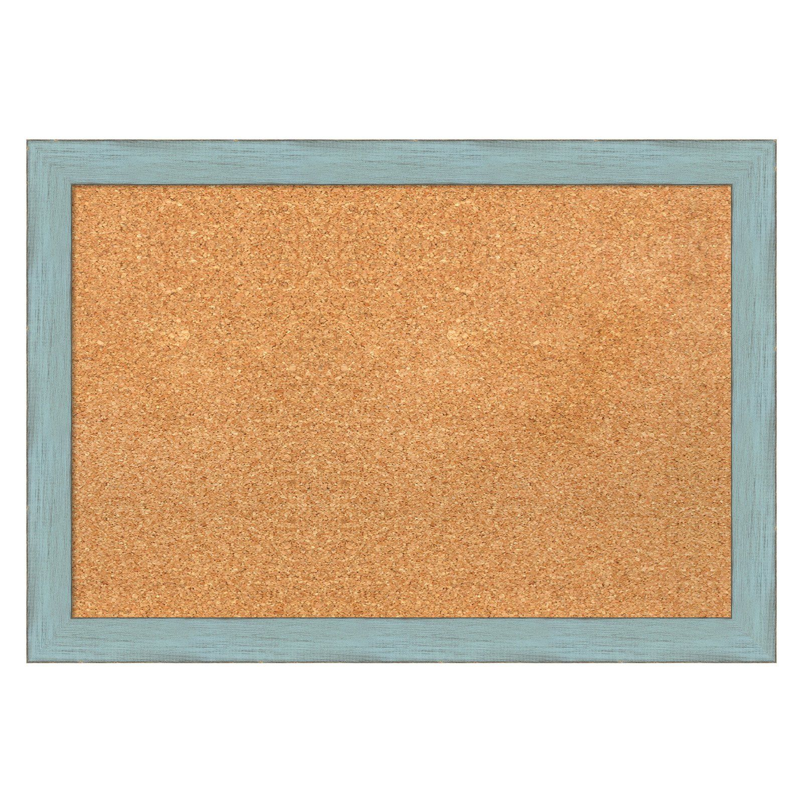 Amanti Art Sky Blue Rustic Framed Cork Board  Dsw1418340
