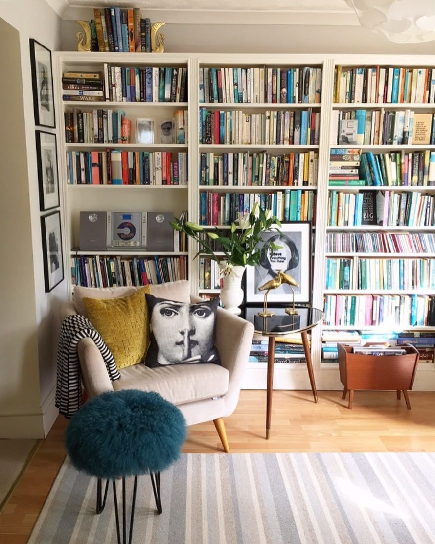 Library Room Ideas For Small Spaces: Pin By Erica Bellinvia On Casa