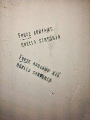 Star Walls - Scritte sui muri. — probabile feeling musicale