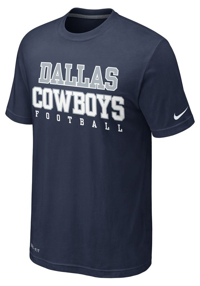 Dallas Cowboys Nike Men s Navy Dri-FIT Legend Practice T-Shirt http   d0e017553c6