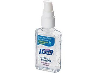 Purell Advanced Instant Hand Sanitizer Personal Pump Bottle 2 Oz