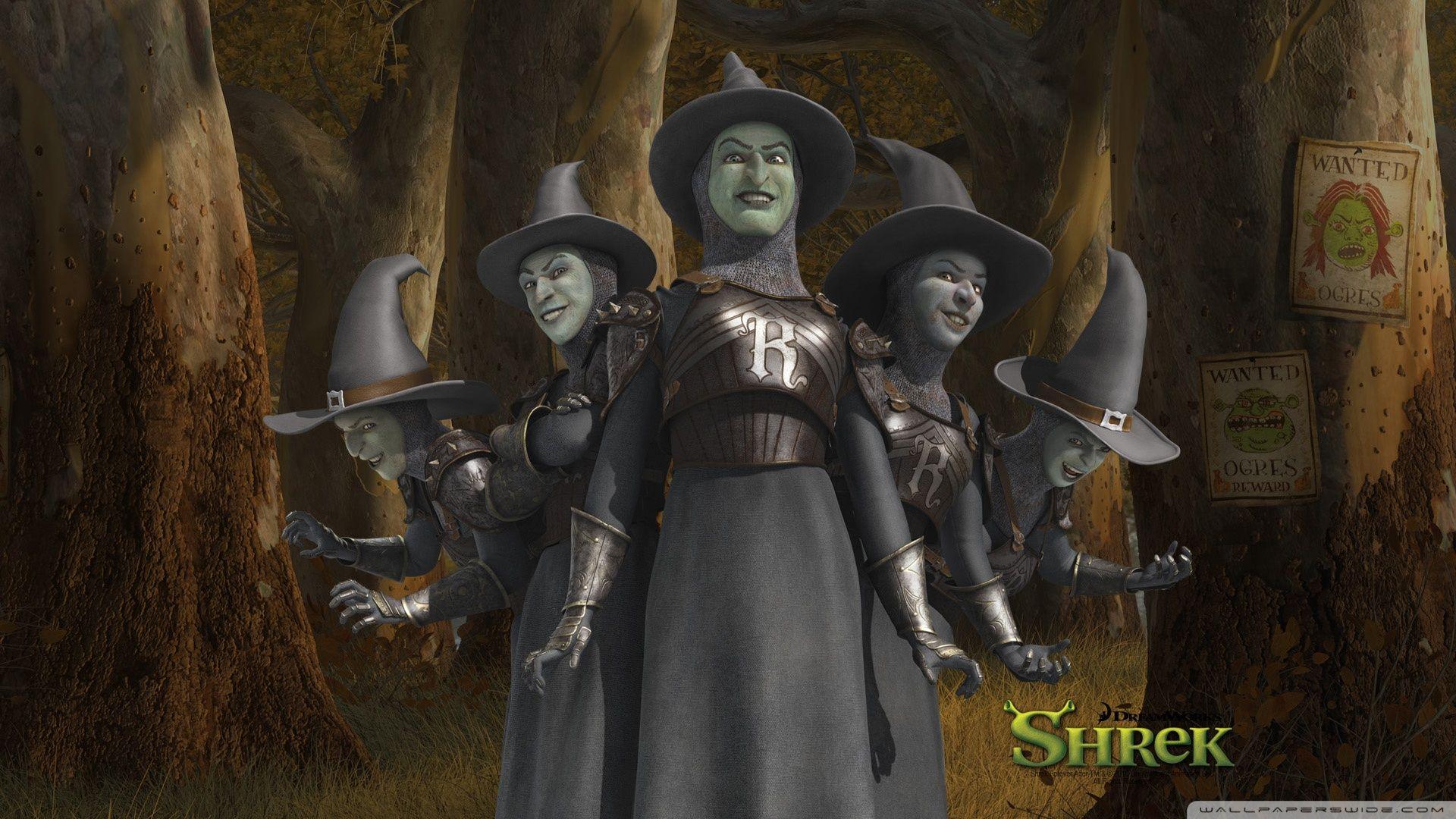Shrek And Rumpelstiltskin Forever After HD Desktop