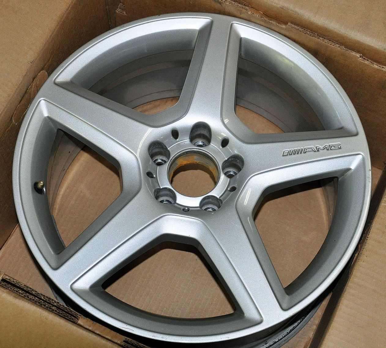 Amg Rims Pre Owned Mercedes 18 Inch Wheels For 2007 2009