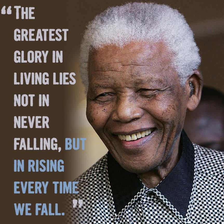 Sending Love And Strength To Nelson Mandela Inspire Yourself