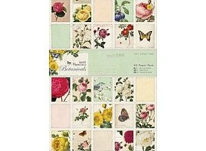 Papermania Botanicals A5 Paper Pack (PMA 160172)