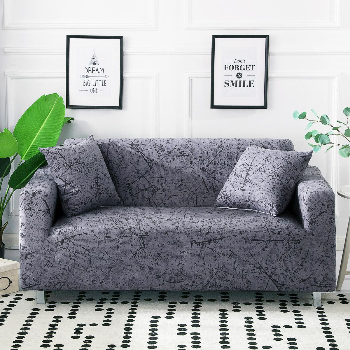 Stretch Sofa Cover For Living Room Couch Cover L Shape Armchair Cover Single Two Three Seat Couch Covers Slip Covers Couch Sofa Covers