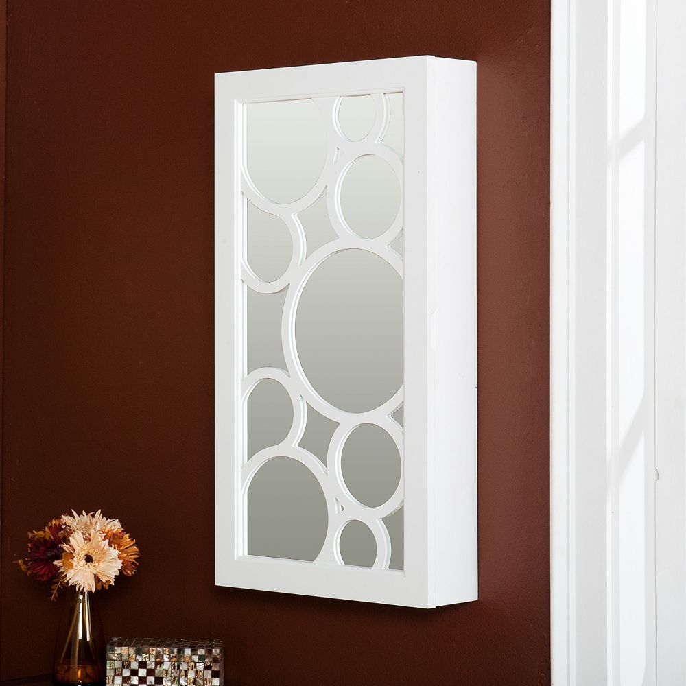 Kimberly Mirrored Wall-Mount Jewelry Armoire from Kohls ...