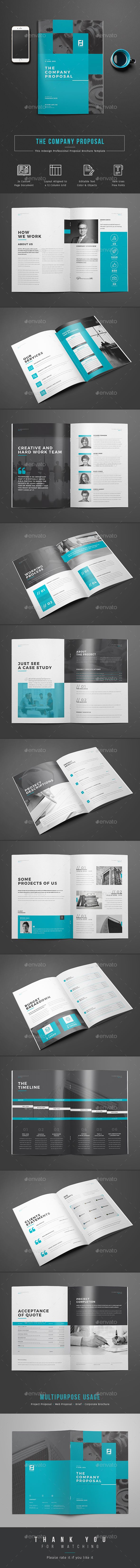 Proposal | Proposal templates, Proposals and Brochures