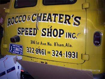Rocco \u0026 Cheater\u0027s Speed Shop Inc. Birmingham Alabama & Rocco \u0026 Cheater\u0027s Speed Shop Inc. Birmingham Alabama   Door ... Pezcame.Com