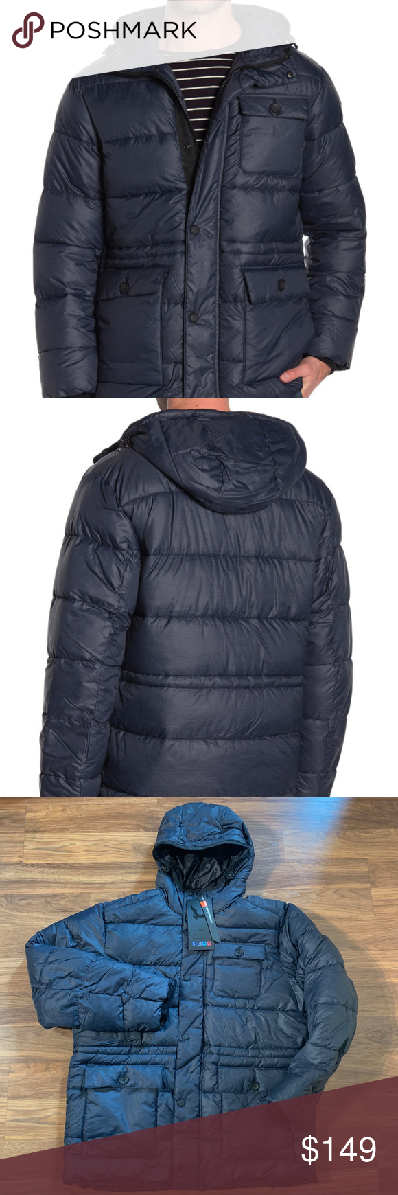 Hawke Co Field Quilted Puffer Jacket Nwt In 2021 Quilted Puffer Jacket Puffer Jacket Women Mens Puffer Jacket [ 1740 x 580 Pixel ]