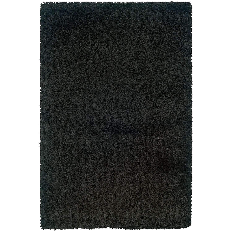 Loft 520k Black Shag Rug By Oriental Weavers